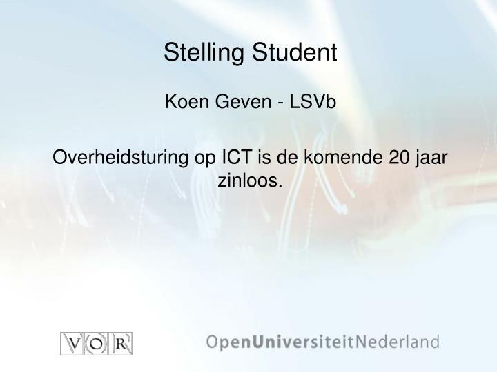 Stelling Student