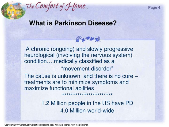What is parkinson disease