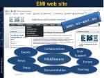 emi web site