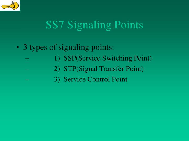 SS7 Signaling Points