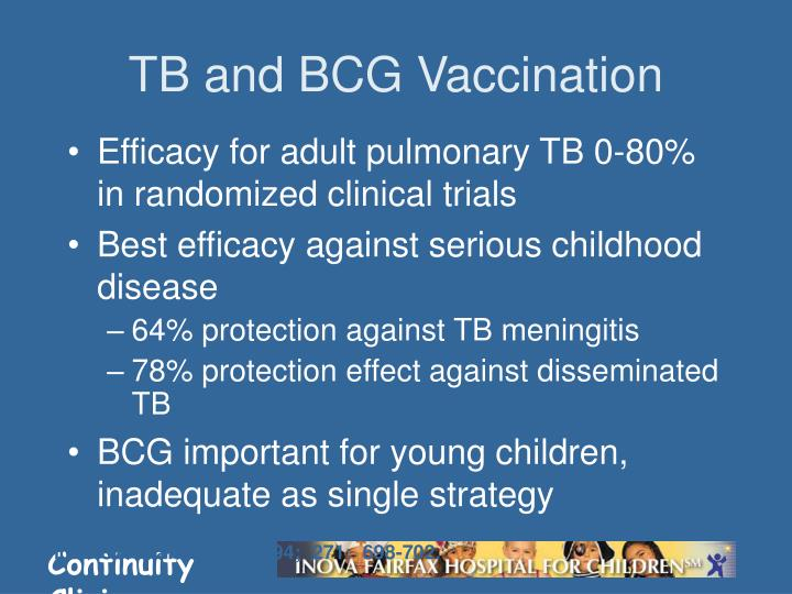 TB and BCG Vaccination