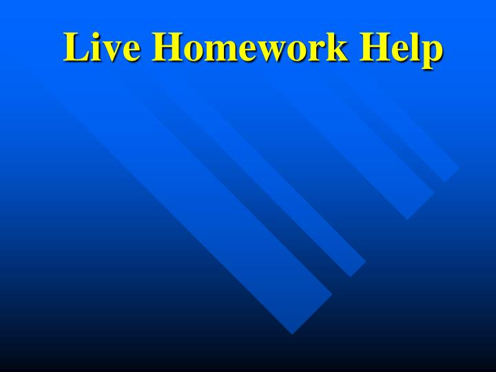 Alabama Live Homework Help