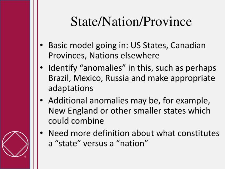 State/Nation/Province