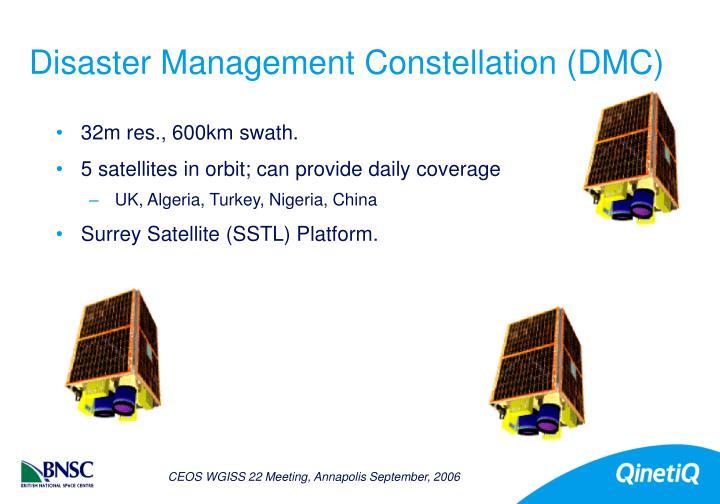 Disaster Management Constellation (DMC)