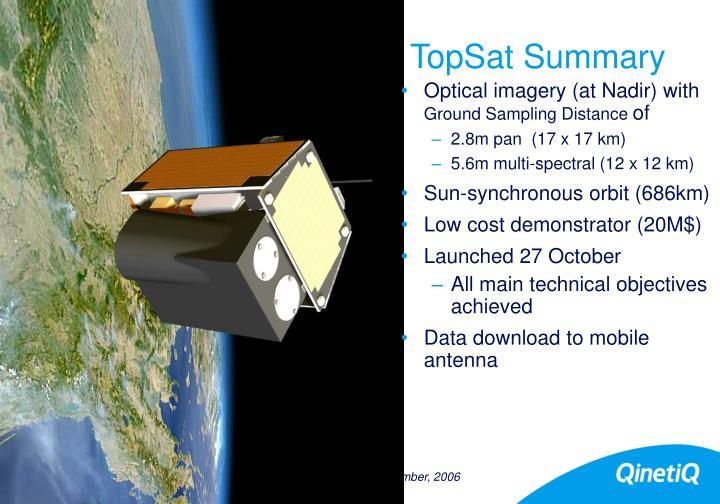 TopSat Summary