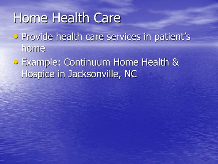 Continuum Home Care And Hospice Jacksonville Nc
