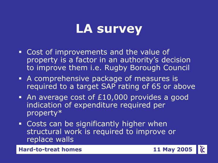 LA survey