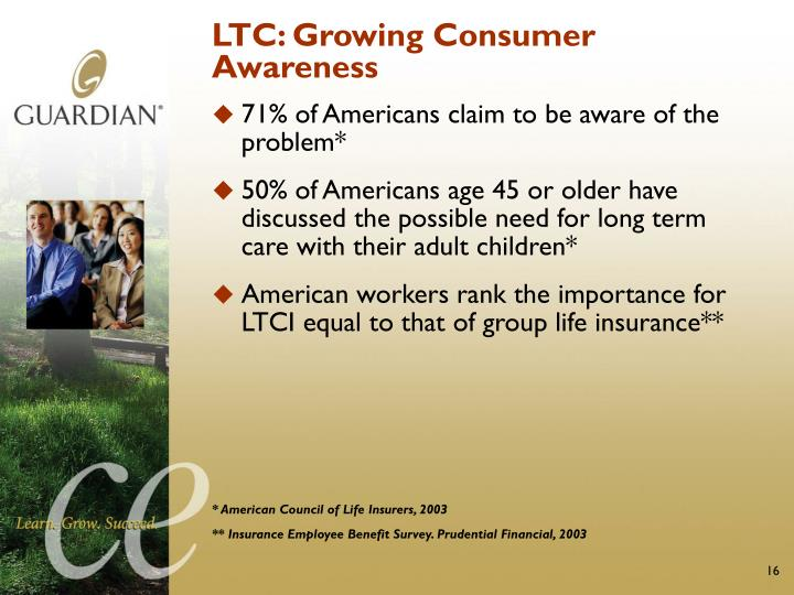 LTC: Growing Consumer Awareness
