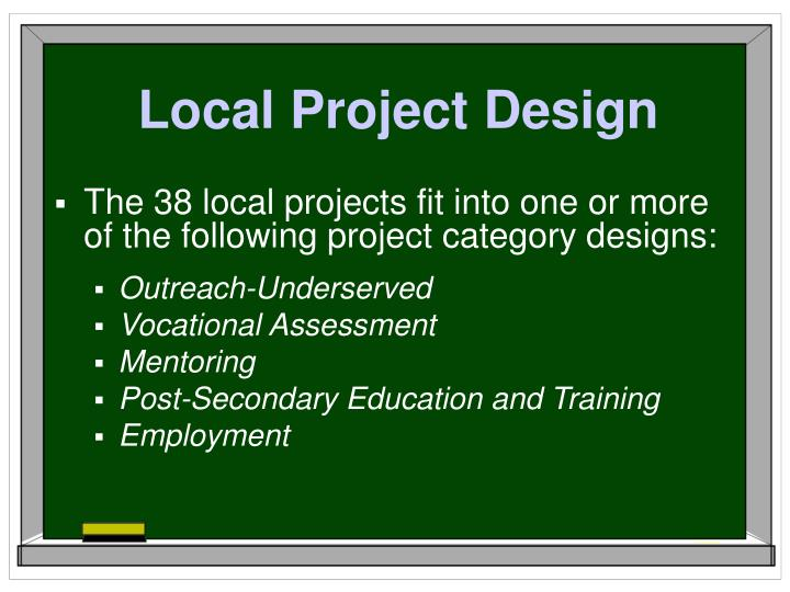 Local Project Design