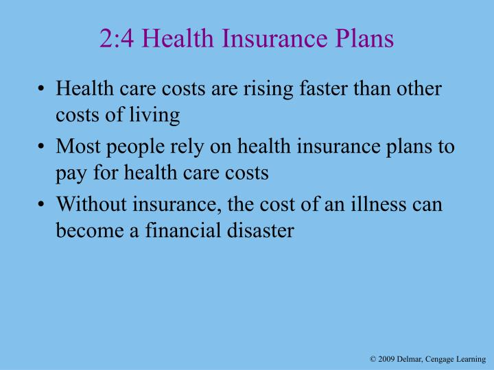 2:4 Health Insurance Plans