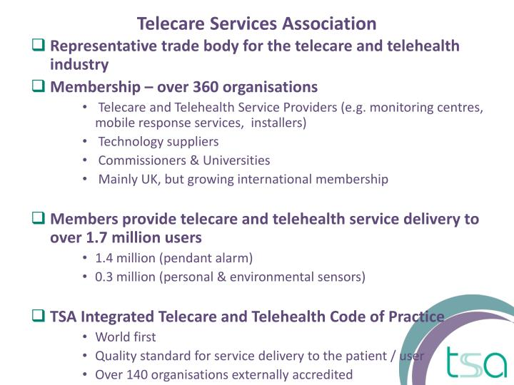 Telecare Services Association