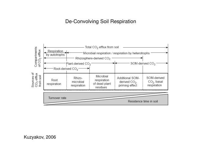 De-Convolving Soil Respiration