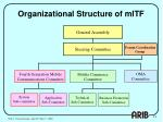 organizational structure of mitf