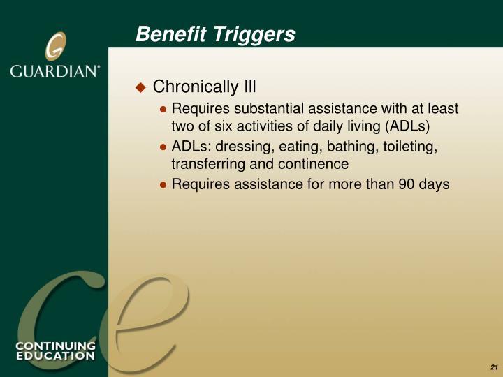 Benefit Triggers