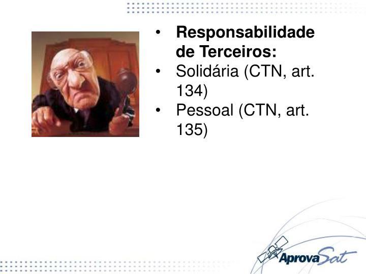 Responsabilidade de Terceiros: