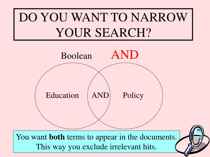DO YOU WANT TO NARROW YOUR SEARCH?