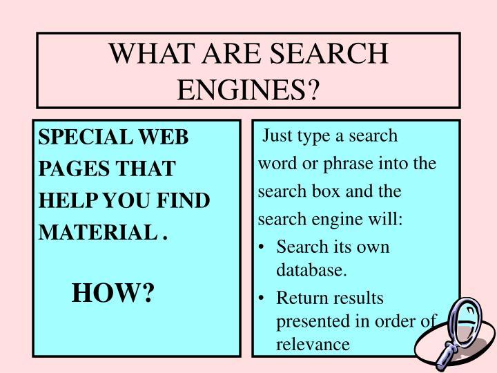 SPECIAL WEB