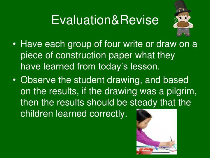 Evaluation&Revise