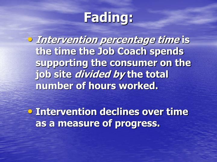 Fading: