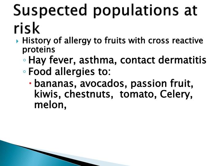 populations at risk Populations at high risk for diabetes require specific types of treatment and care.