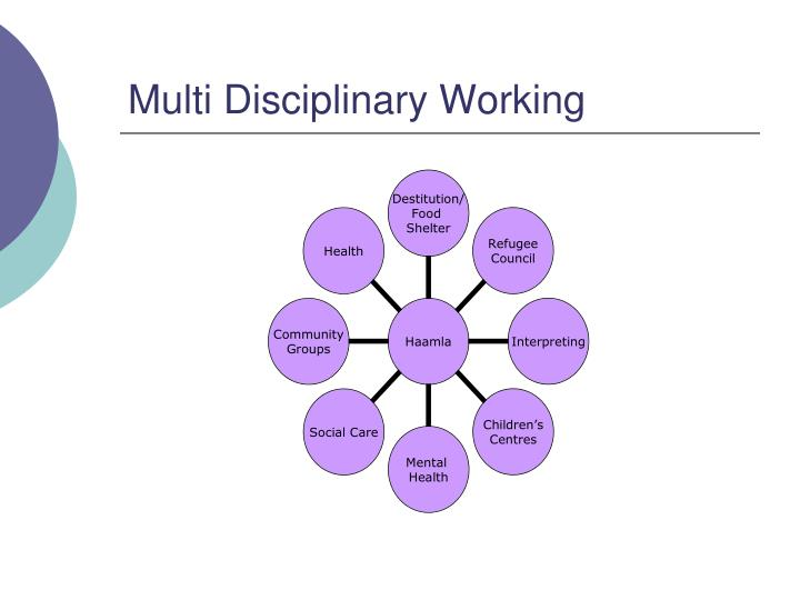 Multi Disciplinary Working