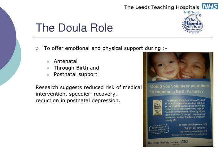 The Doula Role