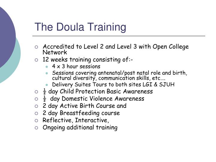 The Doula Training