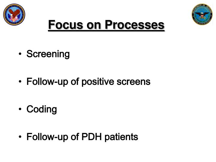 Focus on Processes