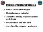 implementation strategies1