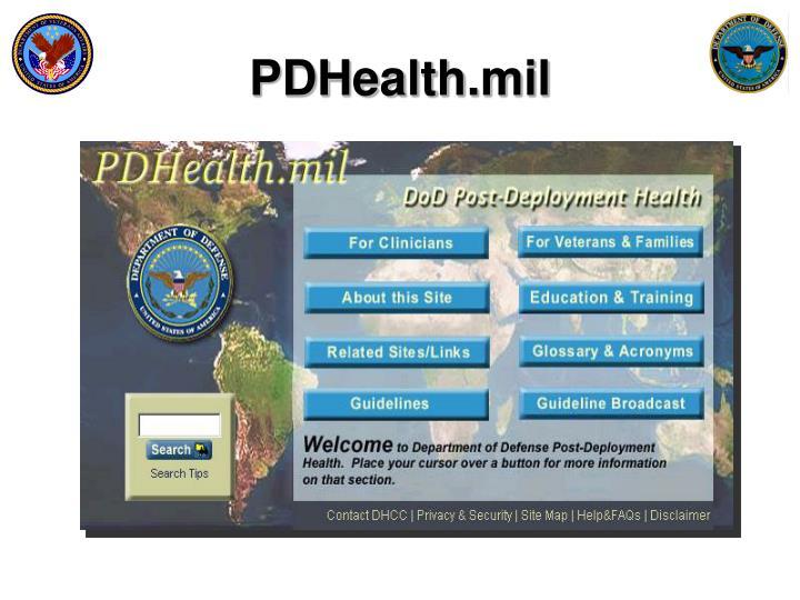 PDHealth.mil