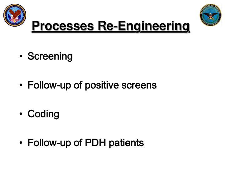 Processes Re-Engineering