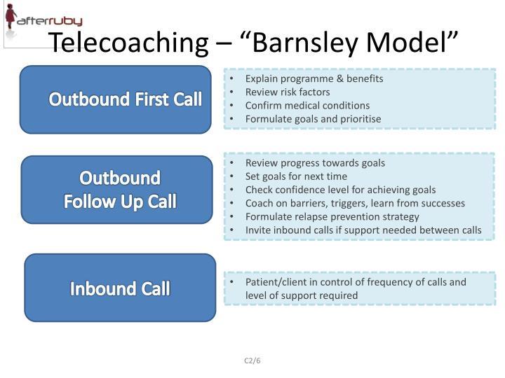 "Telecoaching – ""Barnsley Model"""