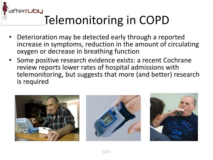 Telemonitoring in COPD
