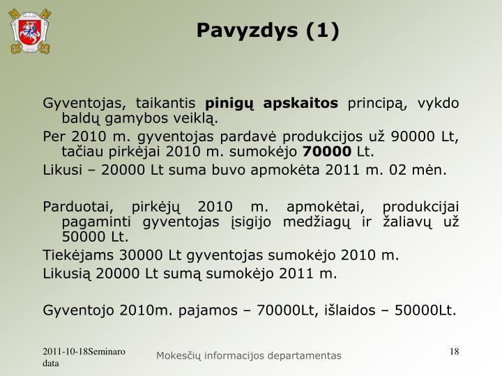 Pavyzdys (1)