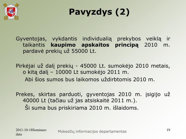 Pavyzdys (2)