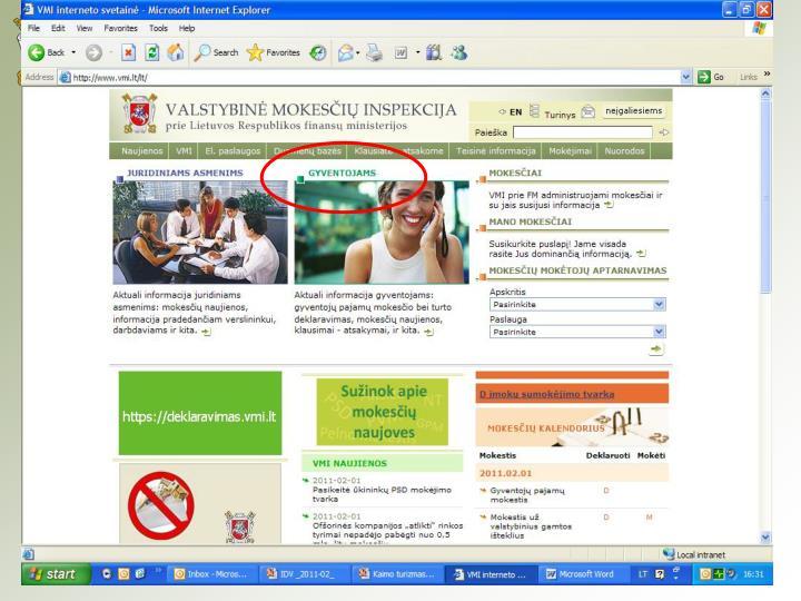 Mokesčių informacijos departamentas