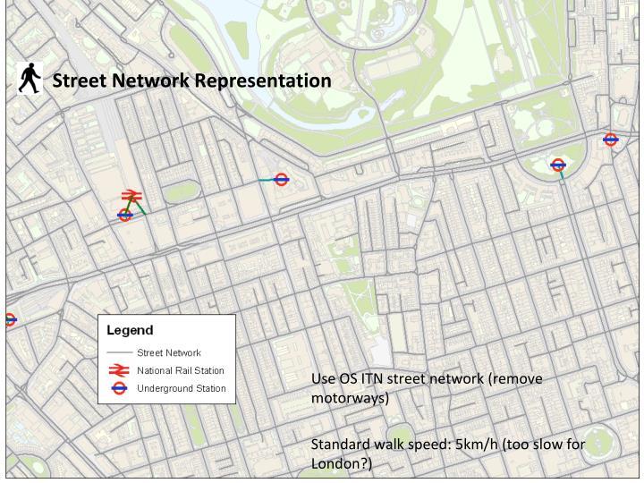 Street Network Representation
