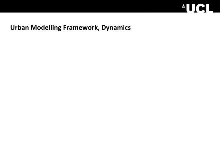 Urban Modelling Framework, Dynamics