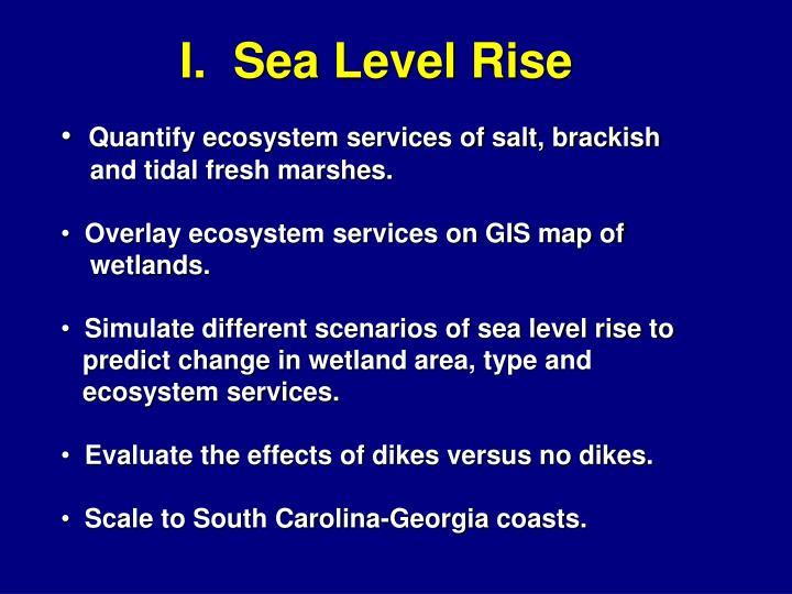 I.  Sea Level Rise
