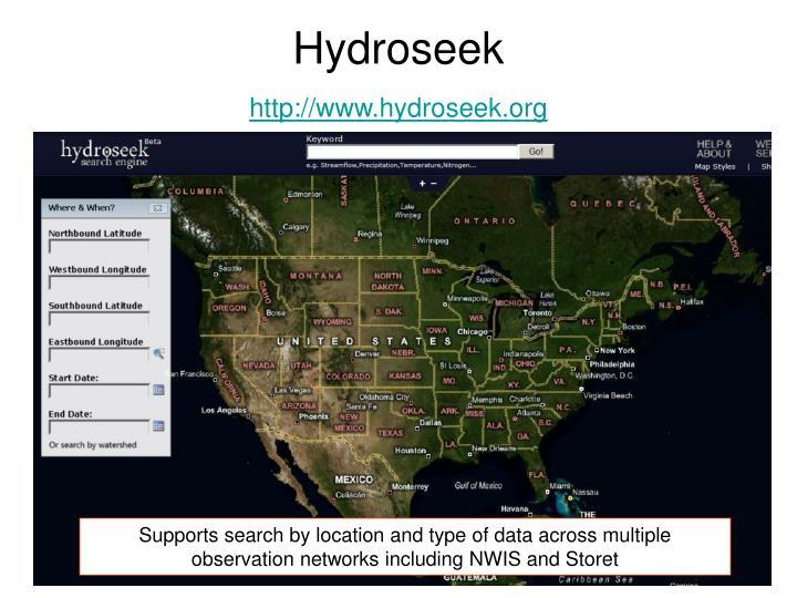 Hydroseek
