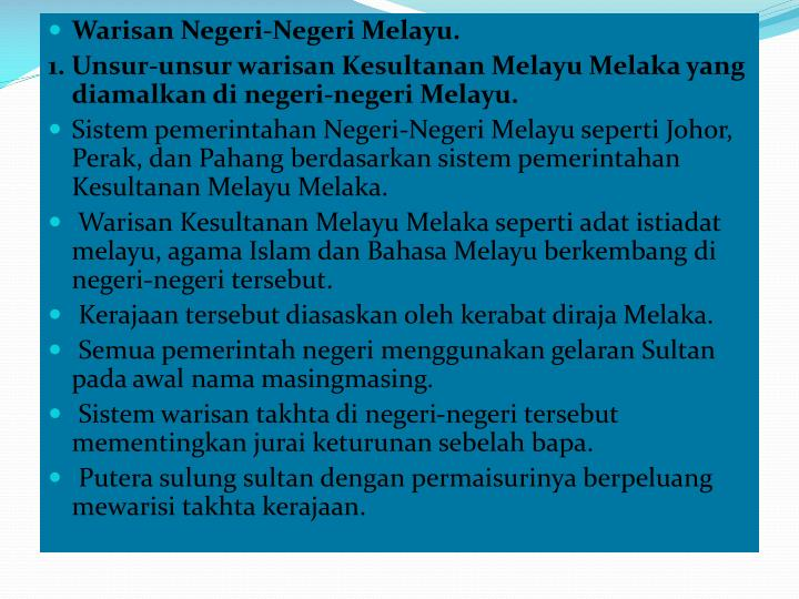 Warisan Negeri-Negeri Melayu.