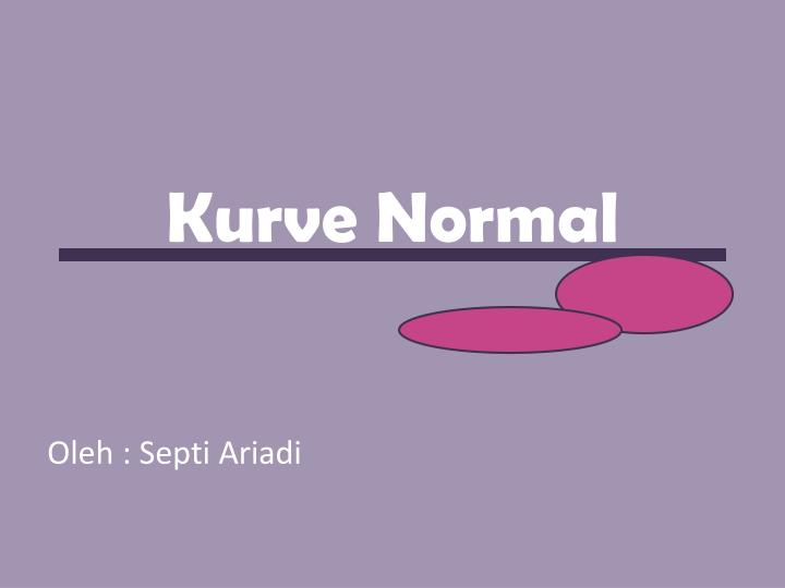 Kurve normal