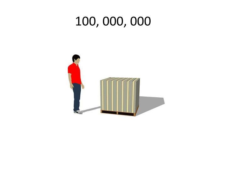 100, 000, 000