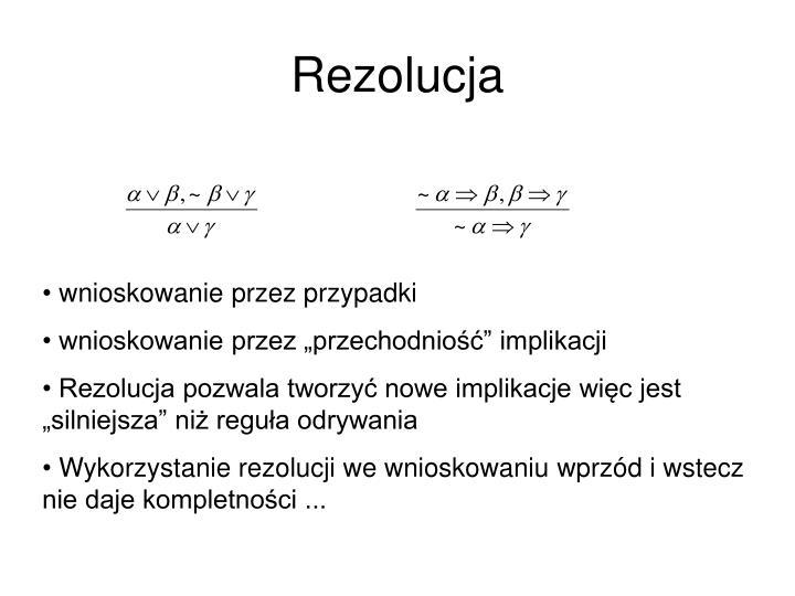 Rezolucja