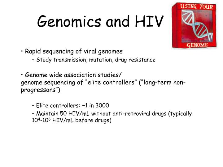Genomics and HIV