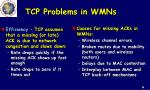 tcp problems in wmns