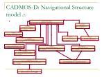 c admos d navigational structure model 2