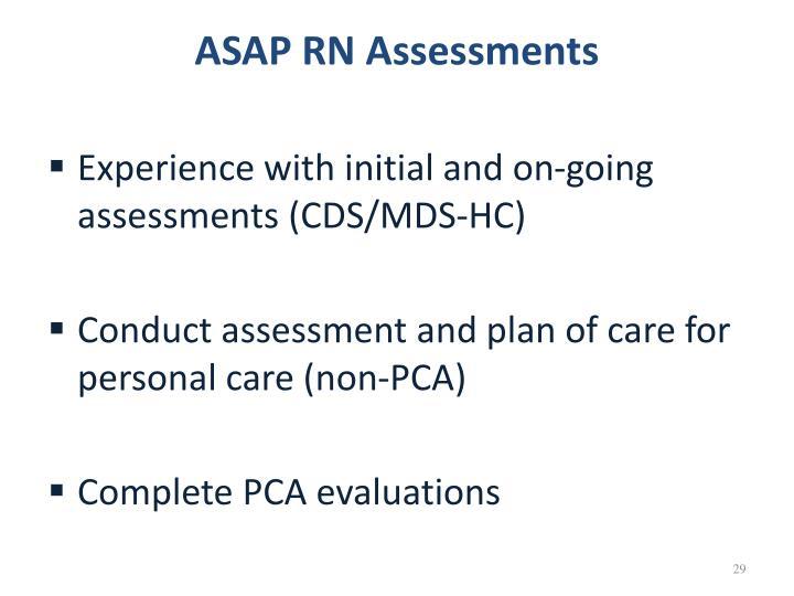 ASAP RN Assessments