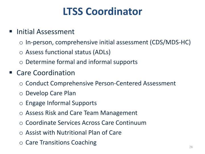 LTSS Coordinator