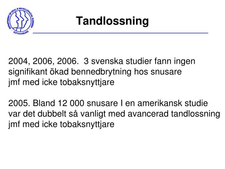 Tandlossning